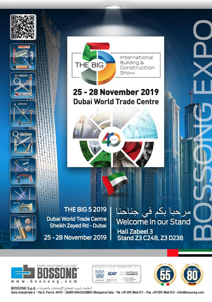 "BOSSONG A ""THE BIG 5"" 25-28 NOVEMBRE, DUBAI"