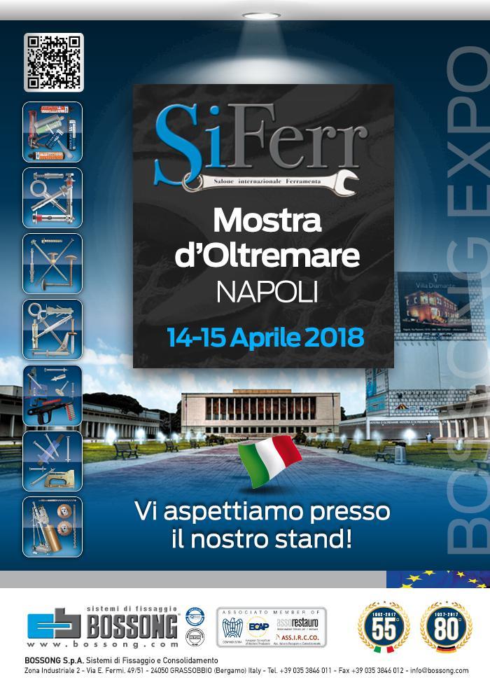 Bossong Fiera SiFerr Napoli 2018